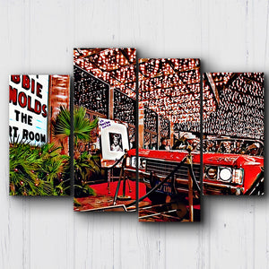 Fear And Loathing No Parking Canvas Sets