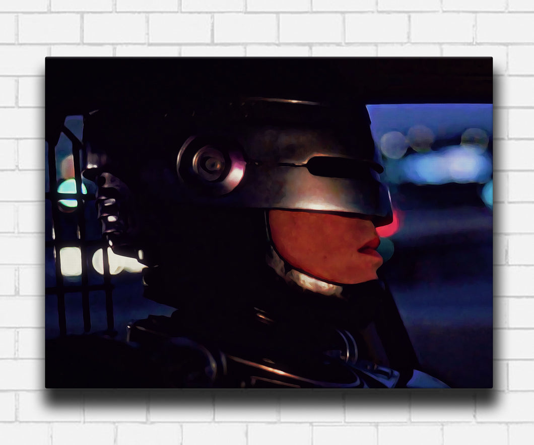 Robocop On Patrol Canvas Sets