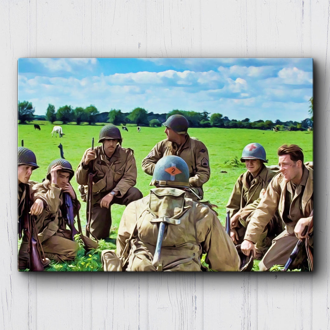 Saving Private Ryan Our Objective Canvas Sets