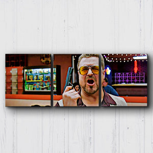 The Big Lebowski Over The Line Canvas Sets
