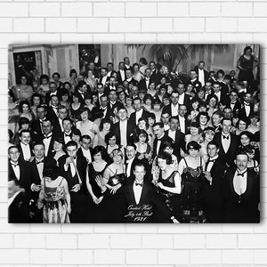 "Overlook Hotel Ball Canvas SetsWall Art1 PIECE / SMALL / Standard (.75"") - Radicalave"