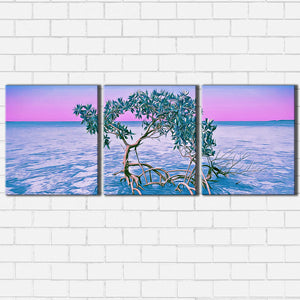 The Pink Mangrove Canvas Sets