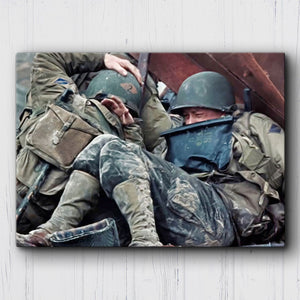 Saving Private Ryan Pinned Down Canvas Sets