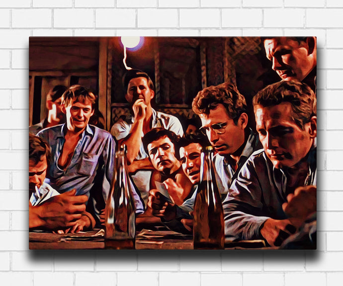 Cool Hand Luke Playing It Cool Canvas Sets