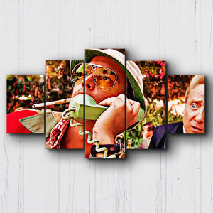 Fear And Loathing Poolside Canvas Sets