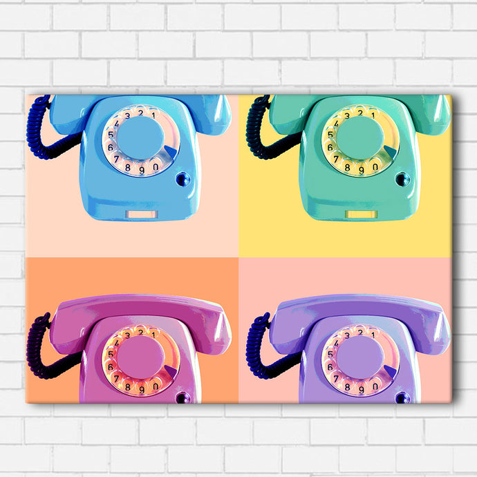 Pop Art Phone Canvas Sets