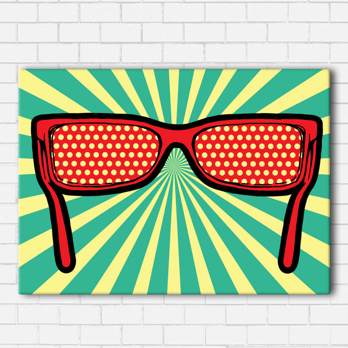 Pop Art Sunglasses Canvas Sets