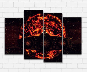 The Fifth Element Pure Evil Canvas Sets
