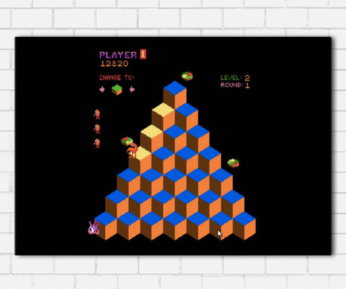 Q Bert Canvas Sets
