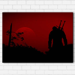 The Witcher RED Canvas Sets