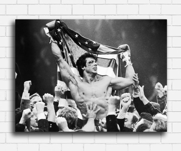 Rocky Flag Canvas Sets