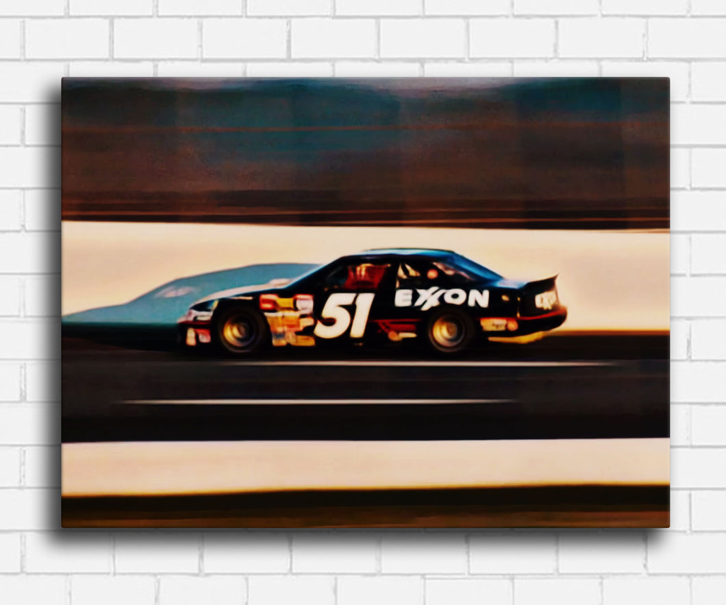 Days Of Thunder Rowdy Burns #51 Canvas Sets