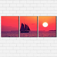 Load image into Gallery viewer, Sail at Sunset Canvas Sets