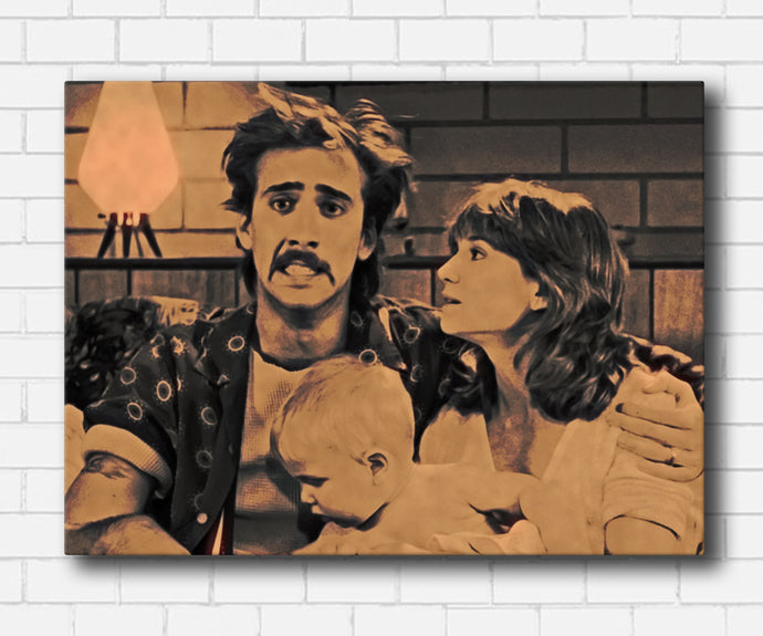 Raising Arizona - Say Cheese Canvas Sets