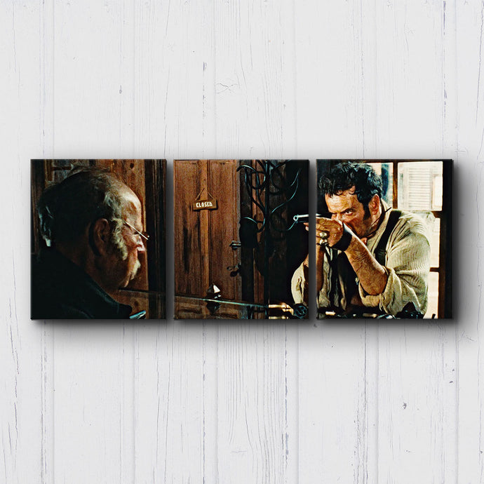 The Good The Bad The Ugly Sights Canvas Sets
