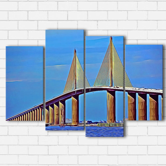 Skyway Bridge Canvas Sets