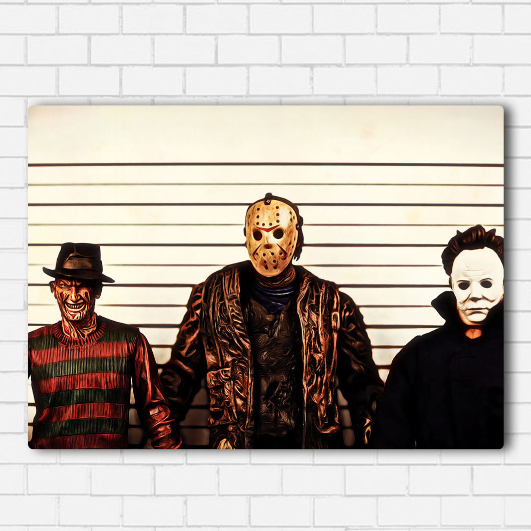 Slasher Line Up Canvas Sets
