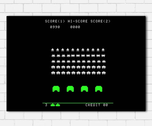 Space Invaders Canvas Sets