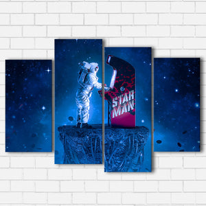 Spaceman Arcade Canvas Sets