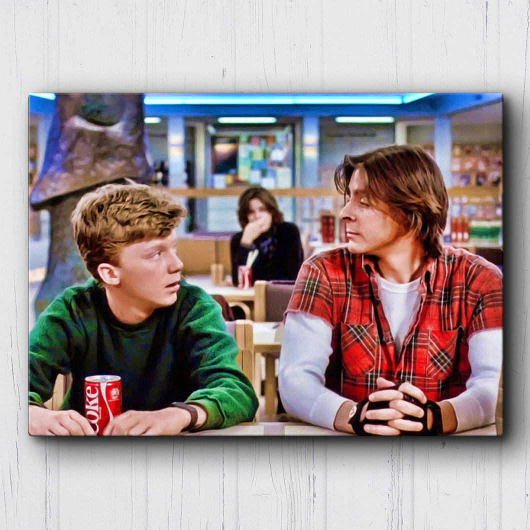 The Breakfast Club Standard Lunch Canvas Sets