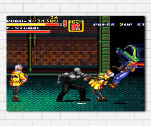 Streets Of Rage Canvas Sets