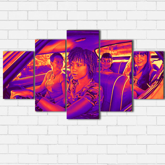 Deathproof Stunt Girls Canvas SetsWall Art5 PIECE / SMALL / Standard (.75