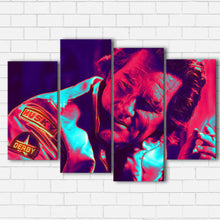 "Load image into Gallery viewer, Stuntman Mike Canvas SetsWall Art4 PIECE / SMALL / Standard (.75"") - Radicalave"