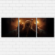 Load image into Gallery viewer, The Witcher Sword Canvas Sets