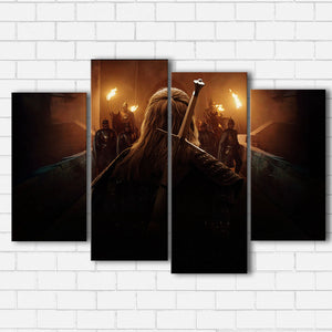 The Witcher Sword Canvas Sets