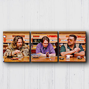 The Big Lebowski The Bar Canvas Sets