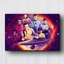 Load image into Gallery viewer, Star Trek The Crew Canvas Sets