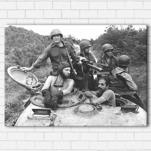 Kelly's Heroes - The Crew Canvas SetsWall Art1 PIECE / SMALL / Standard (.75