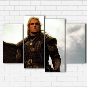 The Witcher Geralt of Rivia Canvas Sets