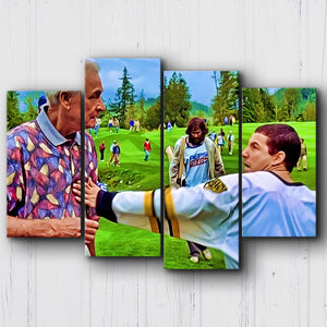 Happy Gilmore The Price is Wrong Canvas Sets