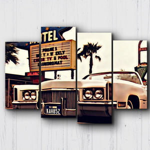 Fear And Loathing The Whale Canvas Sets