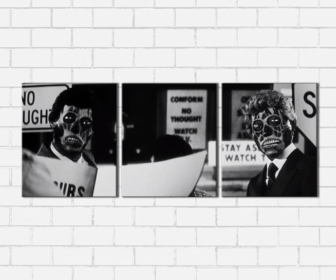 They Live He Sees Canvas Sets
