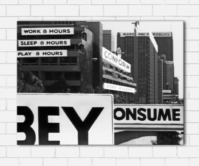 They Live Signs Canvas Sets