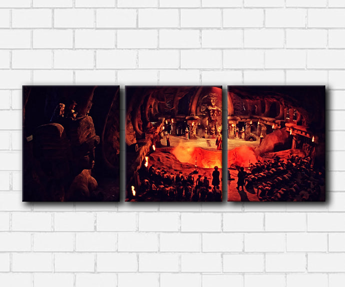 Indiana Jones Thugee Meeting Canvas Sets