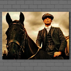 Peaky Blinders- Tommy and his Horse Canvas Sets