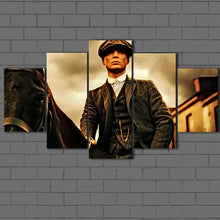 Load image into Gallery viewer, Peaky Blinders- Tommy and his Horse Canvas Sets