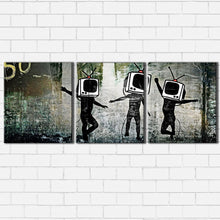 Load image into Gallery viewer, Banksy TV Generation Canvas Sets