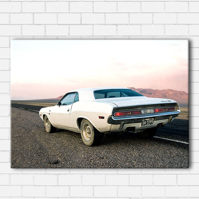 Vanishing Point Road Side Canvas Sets