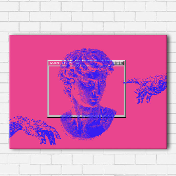 Vaporwave Sculpture Canvas Sets