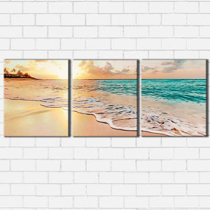 Walk On The Beach Canvas Sets
