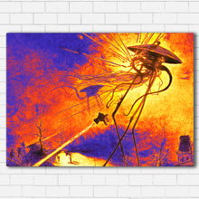 "Load image into Gallery viewer, War of the Worlds Canvas SetsWall Art1 PIECE / SMALL / Standard (.75"") - Radicalave"