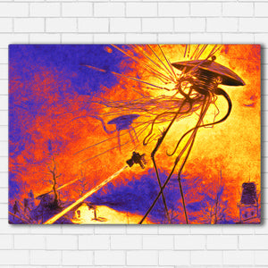 "War of the Worlds Canvas SetsWall Art1 PIECE / SMALL / Standard (.75"") - Radicalave"
