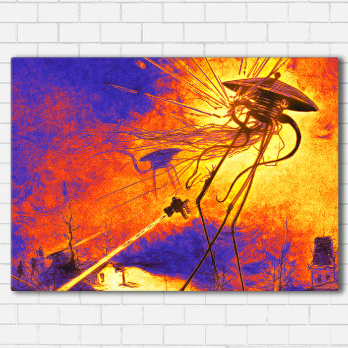War of the Worlds Canvas SetsWall Art1 PIECE / SMALL / Standard (.75
