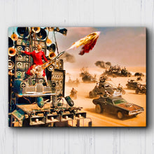 Load image into Gallery viewer, Mad Max Fury Road War Party Guitar Canvas Sets