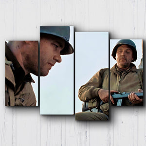 Saving Private Ryan We All Can Go Home Canvas Sets