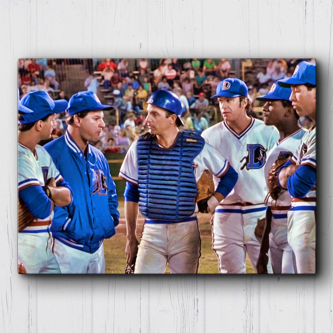 Bull Durham We're Dealing With A Lot Canvas Sets